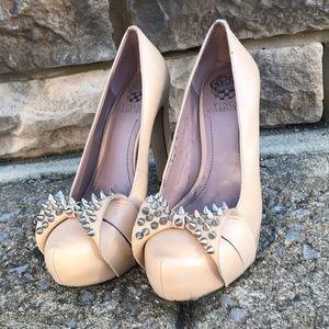 Vince Camuto, natural color high heel shoe